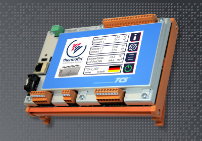 Regelungstechnik – thermofin® control system 2. Generation